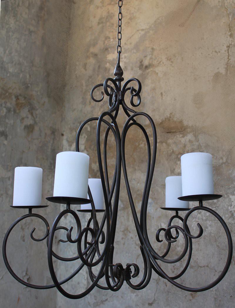 kronleuchter f r kerzen shabby haus und garten shabby antik aussehend lampen. Black Bedroom Furniture Sets. Home Design Ideas