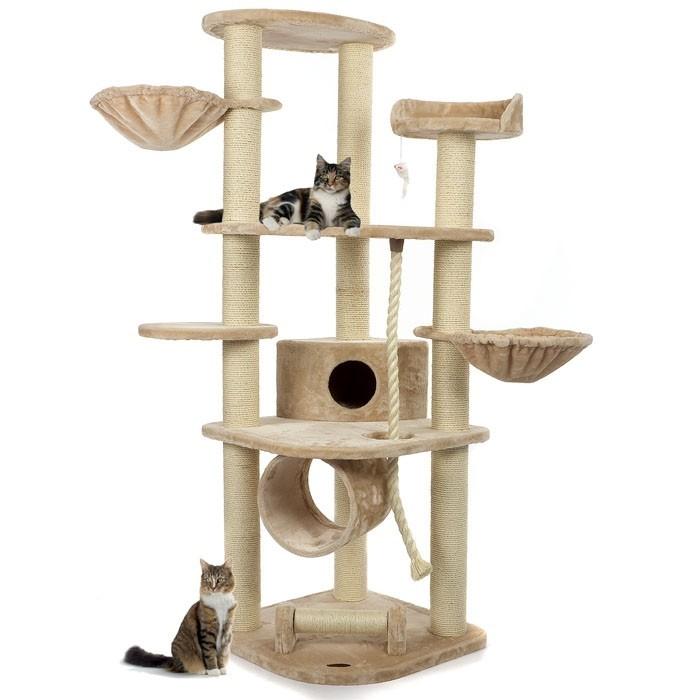 suchergebnis haustierbedarf katzen kratzbaeume deckenhoch kratzbaum 186cm hoch katzenbaum sisal. Black Bedroom Furniture Sets. Home Design Ideas