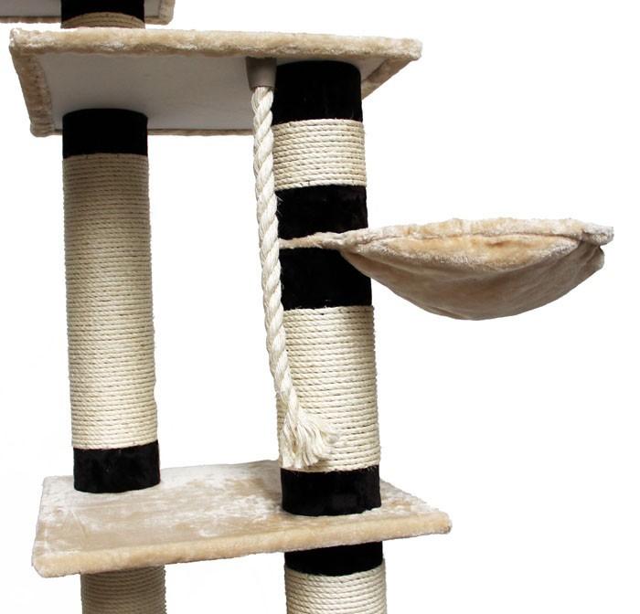 kratzbaum atlantis grau 14cm s ulen sehr stabil von deluxepet bei swisshandel24 kaufen. Black Bedroom Furniture Sets. Home Design Ideas