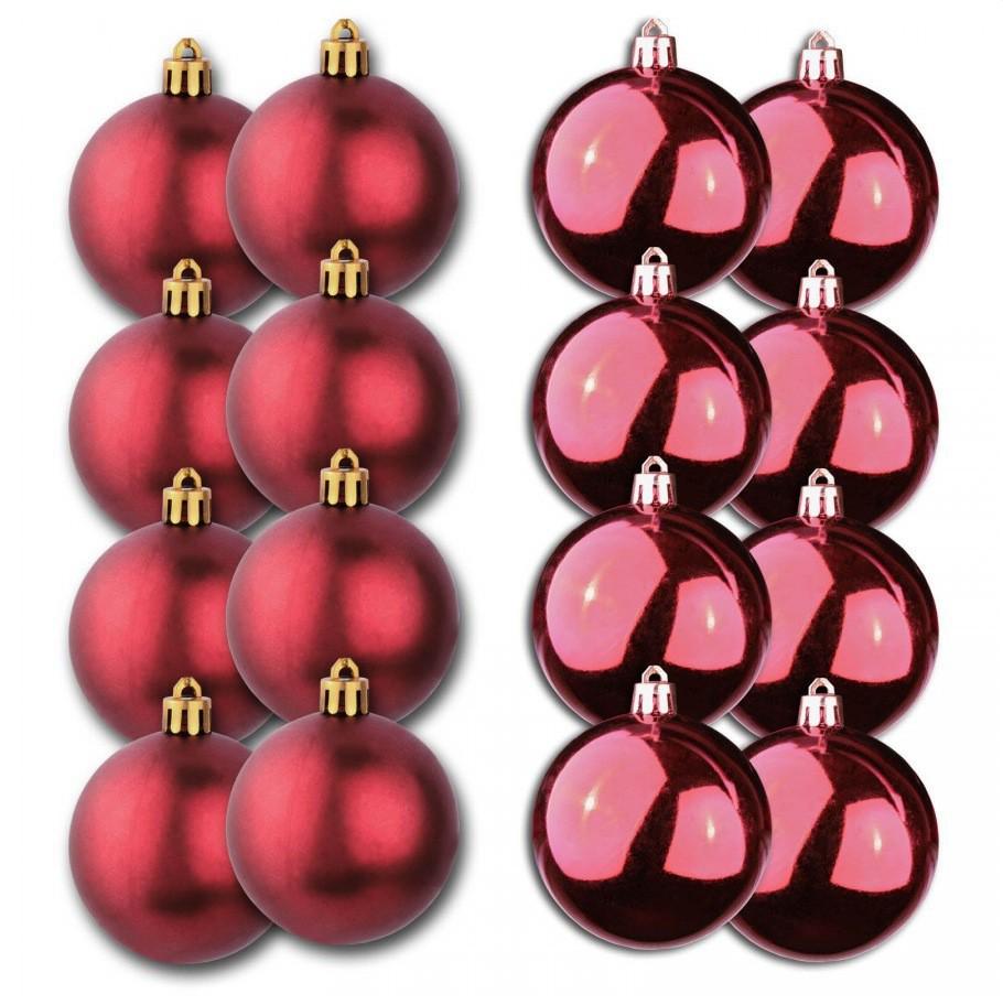 weihnachtskugeln 5cm 24 st ck christbaumkugeln. Black Bedroom Furniture Sets. Home Design Ideas