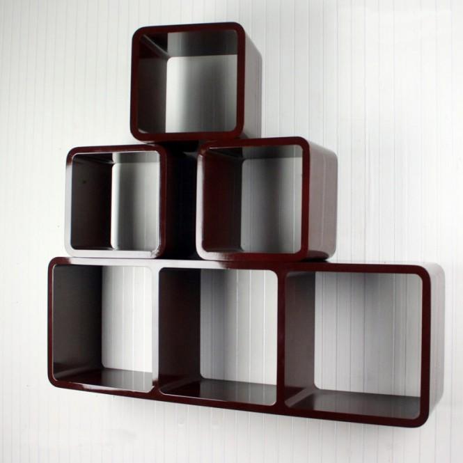 suchergebnis haus regale retro wandregal cubes regal 4er set farben 340 swisshandel24. Black Bedroom Furniture Sets. Home Design Ideas