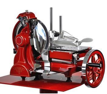 Schwungradaufschnittmaschine, mechanische Aufschnittmaschine
