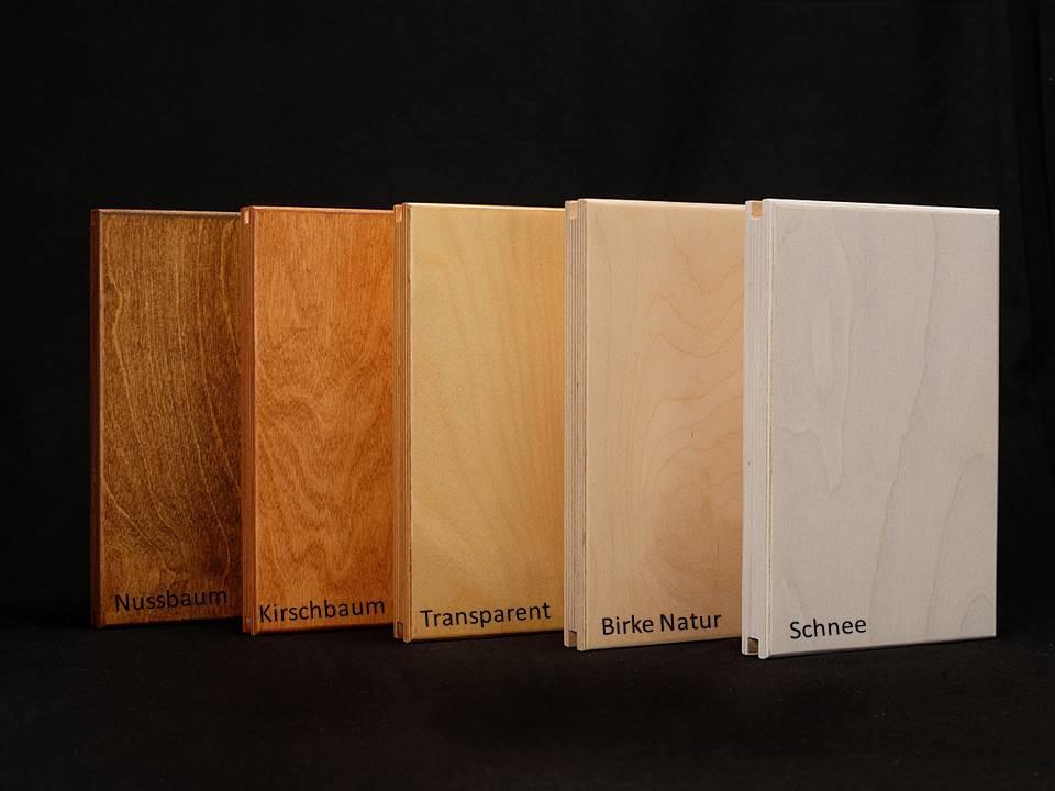 Goldtatze Holzfarben