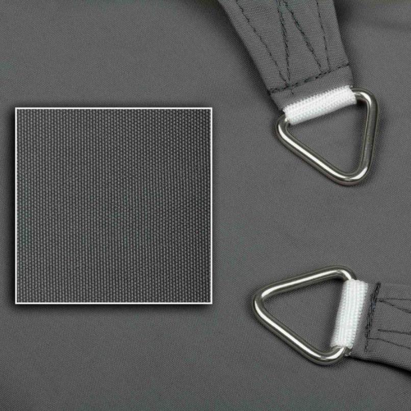 sonnensegel wasserdicht dreieck mit rechtem winkel 3 farben haus garten sonnensegel. Black Bedroom Furniture Sets. Home Design Ideas