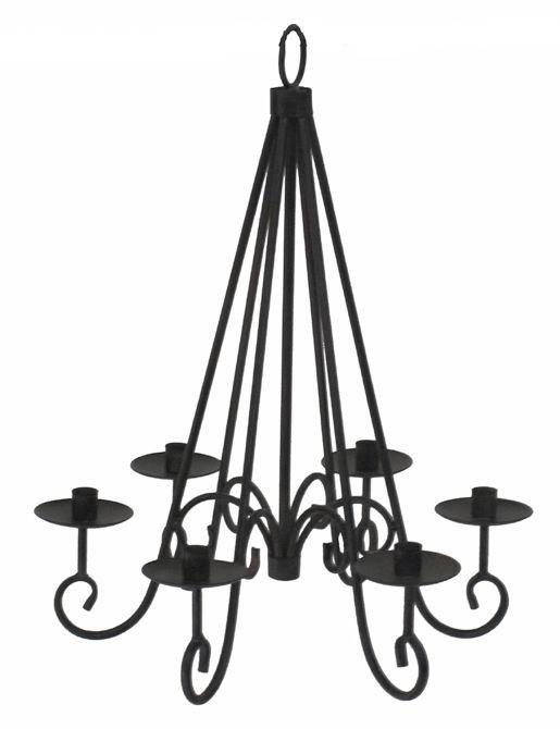 kronleuchter antik look f r kerzen haus garten shabby. Black Bedroom Furniture Sets. Home Design Ideas